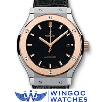 Hublot - Classic Fusion 45mm Titanium King Gold Watch Ref....