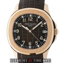 Patek Philippe Aquanaut 18k Rose Gold 40mm Brown Dial