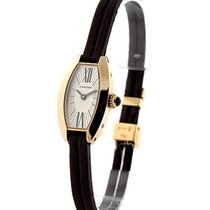 Cartier W1537238 Lanieres - Rose Gold - Mini Tonneau Size on...