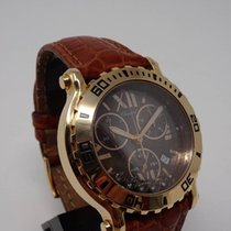 Chopard Happy Sport Chronograph Rose gold Diamonds