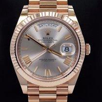 Rolex President 40mm Day-date 228235 18k Rose Gold Sundust...