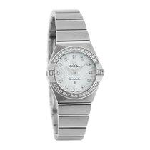 Omega Constellation Ladies Diamond Quartz Watch 123.15.24.60.5...