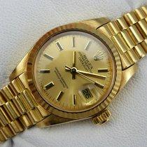 Rolex Datejust Lady - 6917 - Gold 750 - Goldband - aus 1978