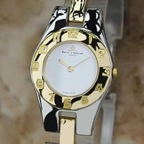 Baume & Mercier Baume  24mm Ladies Gold Plated and...