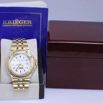 Krieger Watch K929 40mm 18k Yellow Gold Limited Edition...