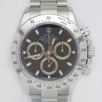 Rolex Daytona Stainless Steel 40mm Black Dial REF 116520