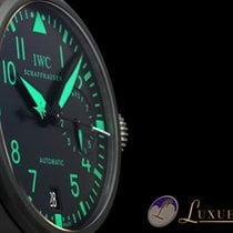 IWC Grosse Fliegeruhr Big Pilot Top Gun Green 7 Days 48mm |...