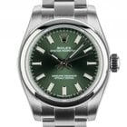 Rolex Oyster Perpetual Lady Stahl Green Automatik Armband...