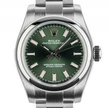 ロレックス (Rolex) Oyster Perpetual Lady Stahl Green Automatik...