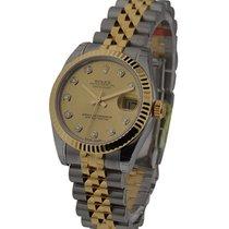 Rolex Unworn 178273-GLDDIA Midsize 31mm Datejust 178273 -...