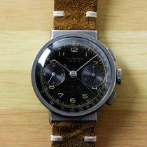 Universal Genève Vintage Gilt Compur Hooded Lugs Chronograph