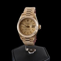 Rolex Oyster Perpetual Lady-Datejust Yellow Gold President