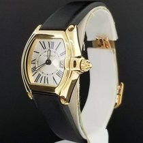 Cartier Roadster Ladies Ref. 2676 18K Yellow Gold B+P  Roman...