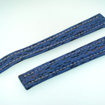 Breitling Band 18mm Blau Blue Azul Shark Strap Correa Für...