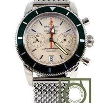 Breitling Superocean Heritage Chronograph 44 green a2337036...
