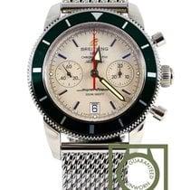 ブライトリング (Breitling) Superocean Heritage Chronograph 44 green...