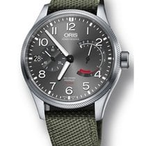Oris Big Crown ProPilot Calibre 111 Olive Textile Strap