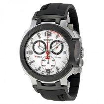 Tissot Men's T0484172703700 T-Race Quartz White Chronograph