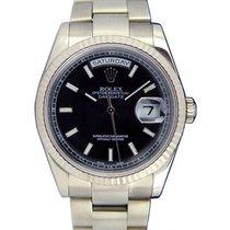 Ρολεξ (Rolex) Day-Date 36 118239-BLKDFO Black Diamond Fluted...