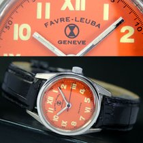 Favre-Leuba Geneve Sea King Winding Steel Unisex Watch
