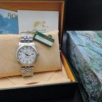 勞力士 (Rolex) DATEJUST 16014 SS Original White Enamel Arabic...