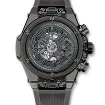 Χίμπλοτ (Hublot) : 45mm Big Bang Unico All Black Sapphire Watch