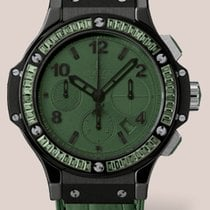 Hublot Big Bang 41mm Black Tutti Frutti · Dark Green Carat...