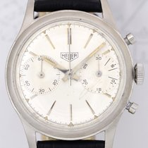 TAG Heuer Pre Carrera Chronograph steel white Dial Unisex...