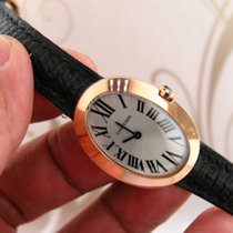 까르띠에 (Cartier) Baignoire ref W8000007 18k Rose Gold Ladies...