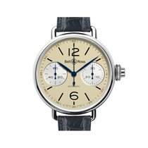 Bell & Ross WW1 Chronographe Monopoussior Ivory