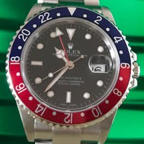 Rolex GMT - Master II Ref. 16710 Pepsi LC100 box/papers &...
