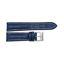Breitling Blue Watch Band Strap with a Stainless Steel Tang...