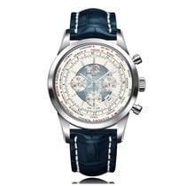 Breitling Transocean Chronograph Unitime Automatic Mens Watch...