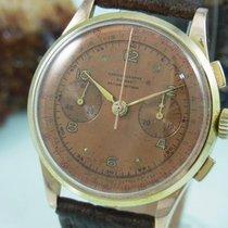 Chronographe Suisse Cie Chronograph 750 18k Gold Mechanisch...