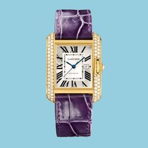 Cartier TANK ANGLAISE 39 Gelbgold -NEU- incl. VAT Export possible