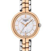 Tissot T0942102211100 Flamingo Quartz Mother of Pearl Dial...