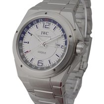 IWC IW324404 Ingenieur Dual Time Automatic in Steel - on...