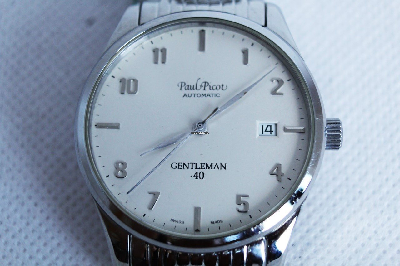 Paul Picot gentleman 40 automatico uomo acciaio 2012 eladó 180 611 Ft  Trusted Seller státuszú eladótól a Chrono24-en a5ab69069a