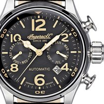 Ingersoll IN1809BK Bull-Run Herren Automatik 46mm 5ATM