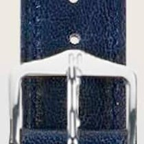 Hirsch Uhrenarmband Camelgrain blau L 01009010-1-20 20mm