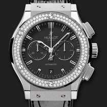 Hublot Classic Fusion Chronograph Titanium Diamonds 42 mm