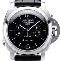 Panerai Luminor 1950 Chrono Monopulsante 8 Days GMT Acciaio...