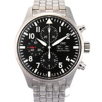 IWC Pilot's Watch Chronograph Black/Steel 2016 - IW377710