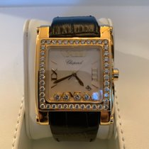 Chopard HAPPY SPORT II SQUARE XL FULL  Mother of  Pearl Dial