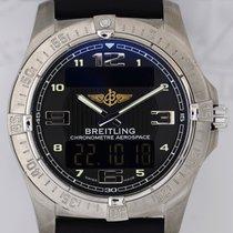 브라이틀링 (Breitling) Aerospace Titan black Multi-Function analog...
