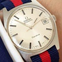 Omega Original Geneve Automatic Automatik Date Datum Steel...