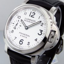 パネライ (Panerai) Unworn  Pam 563 Luminor Marina 8 Days Acciaio...