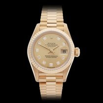 Rolex Datejust 18k Yellow Gold Ladies 79178 - W3973