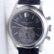 Patek Philippe Annual Calendar Chronograph Ref-5960P-001 Box...