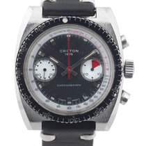 """CROTON STAINLESS STEEL CROTON CHRONOGRAPH WITH """"PAUL..."""
